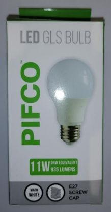 Picture of Pifco LED GLS Bulb - E27 Screw Cap - Warm White - 11W - 935 Lumens