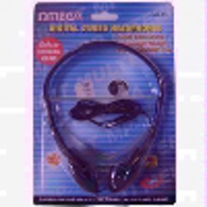 Picture of BLACK DIGITAL STEREO HEADPHONES CD, MD, MP3, PC, ETC