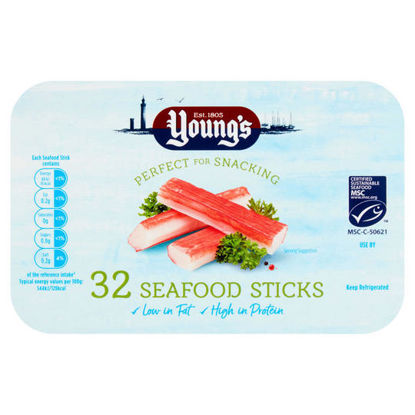 Picture of Young's 32 Seafood Sticks 400g