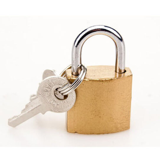 Picture of BOUND Padlock and Key
