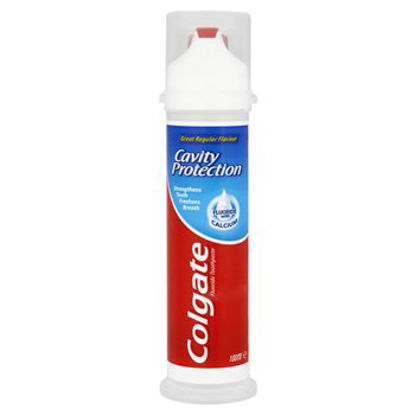 Picture of Colgate Cavity Protection Pump Action Toothpaste
