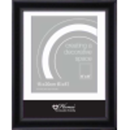 Picture of BLACK FLAT FRAME 6X8 BLRN