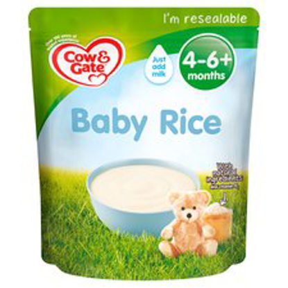 Picture of Cow & Gate Baby Rice Cereal From 4-6 Months 100G