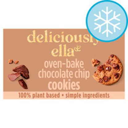 Picture of Deliciously Ella Chocolate Chip Cookies 4X50g