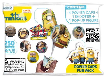 Picture of Minion Power Caps Fun Pack - 4 Power Caps + 1 Shooter + 1 Pop Up Figure