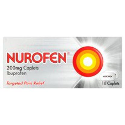 Picture of Nurofen Ibuprofen 200Mg Caplets 16 Pack