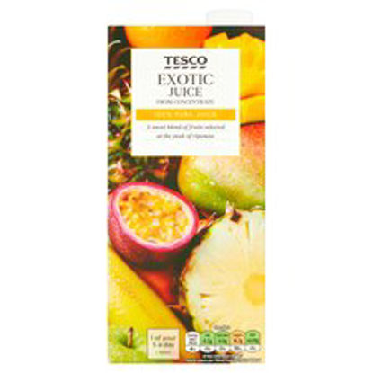 Picture of Tesco Pure Exotic Juice 1 Litre