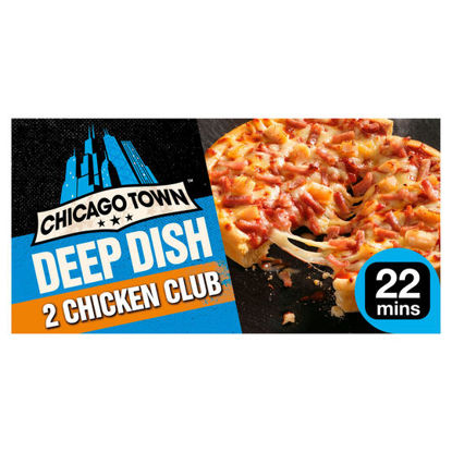 Picture of Chicago Town Deep Dish Chicken Club Mini Pizza 344G