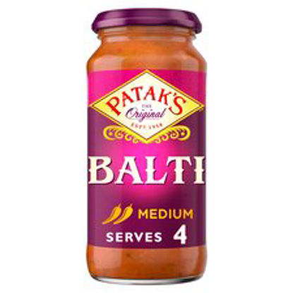 Picture of Pataks Medium Balti Cooking Sauce 450G