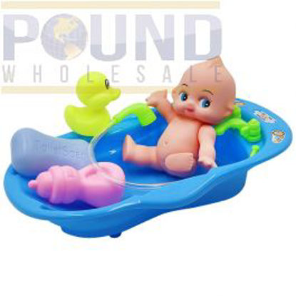Picture of BABY BATH TUB & SHOWER PLAY SET