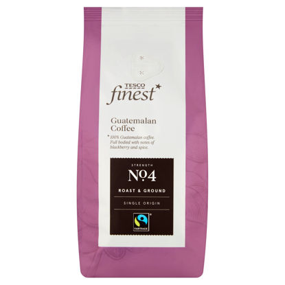 Picture of Tesco Finest Fairtrade Guatemala Ground Coffee 227G