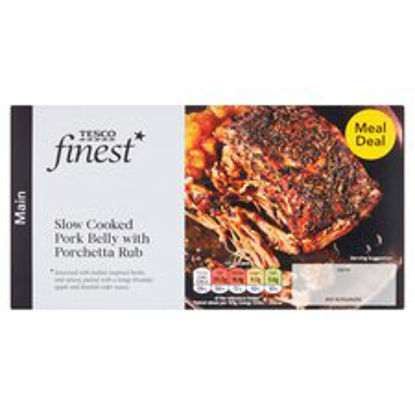 Picture of Tesco Finest Pork Belly With Apple & Cider Sauce 410G