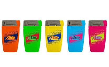 Picture of Matteo Super Slim Electronic Lighters - Assorted Colours