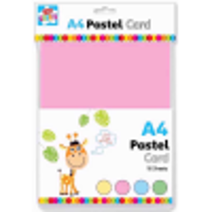 Picture of Anker Kids Create Arts and Crafts Card, Plastic, Pastel, A4, Sheet of 12