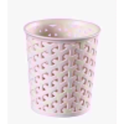 Picture of CURVER RATTAN ROUND SMALL ORGANISER WHITE