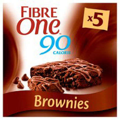 Picture of Fibre One Chocolate Fudge Brownie Bars 5X24g