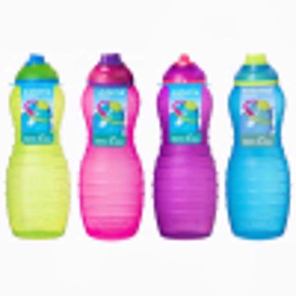 Picture of Sistema Itsy Bitsy Pink Davina Twist n Sip Drinks Bottle 700ml