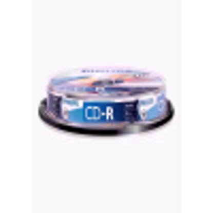 Picture of TDK CD-R80CBA10-B CD-R 80min 52x 10 Pack Spindle