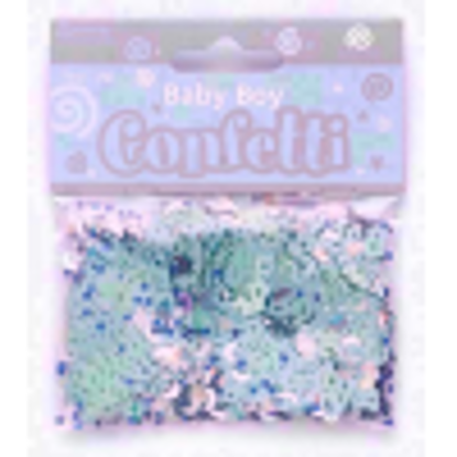 Picture of New Baby Shower Party Celebration Confetti Decoration - Baby Boy
