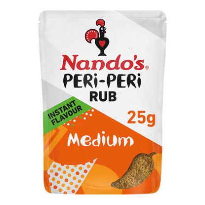 Picture of Nando's Peri Peri Rub Medium 25G