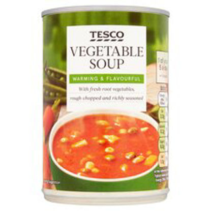 Picture of Tesco Vegetable Soup 400G