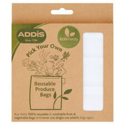 Picture of Addis Reusable Produce Bags 3 Pack