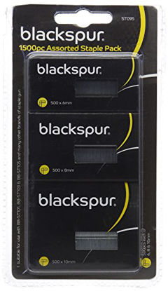 Picture of Blackspur BB-ST095 Assorted Staples Pack