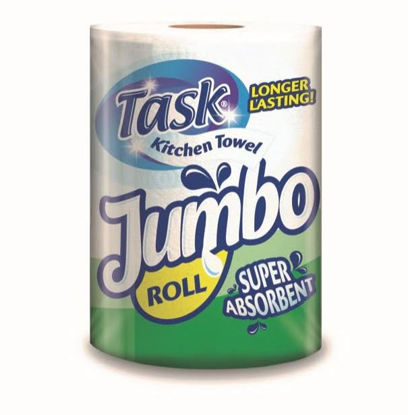 Picture of Task Jumbo Super Absorbent Kitchen Roll / Towels