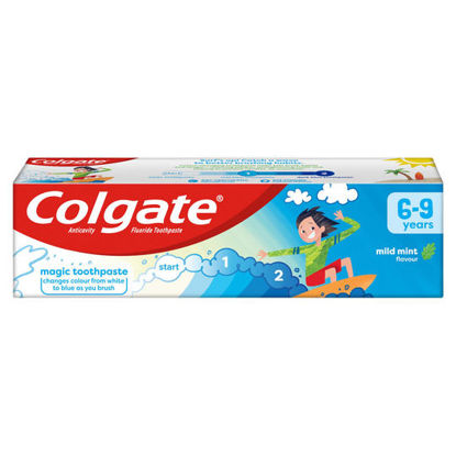 Picture of Colgate Kids Mild Mint Toothpaste 75ml,  6-9 years