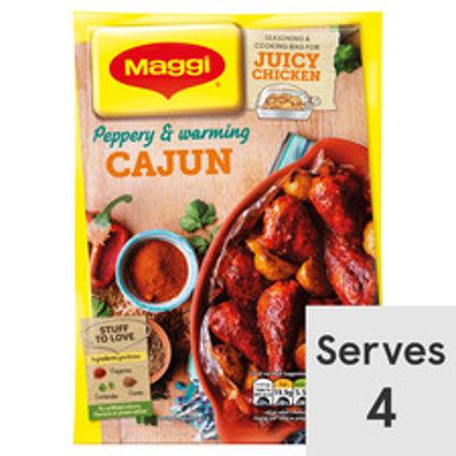 Picture of Maggi So Juicy Cajun Chicken 38G