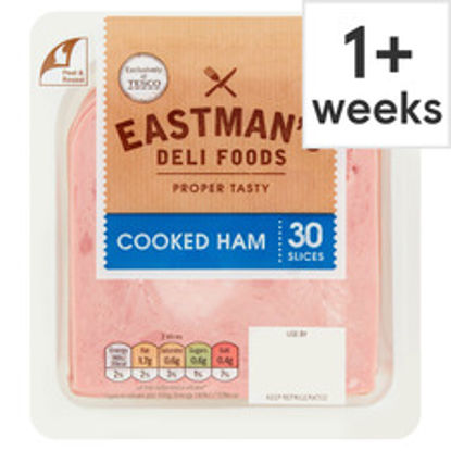 Picture of Eastman's Cooked Ham 30 Slices 400G