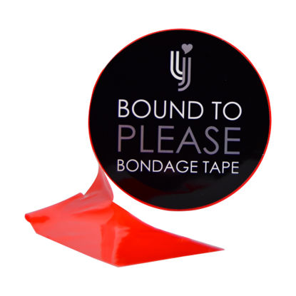 Picture of Bound to Please Bondage Tape Red