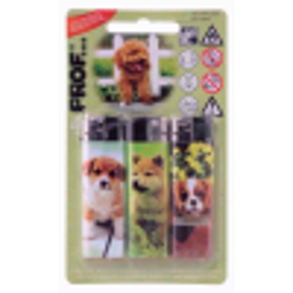 Picture of PROF 3 LIGHTERS DOGS