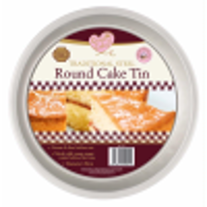 Picture of QUEEN OF CAKES ROUND TIN
