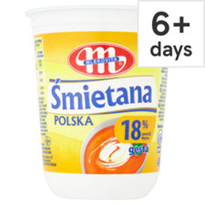 Picture of Mlekovita 18% Fat Sour Cream 400G
