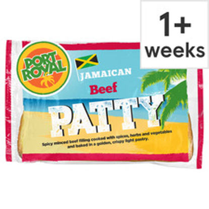 Picture of Port Royal Beef Jamaican Patty 140G