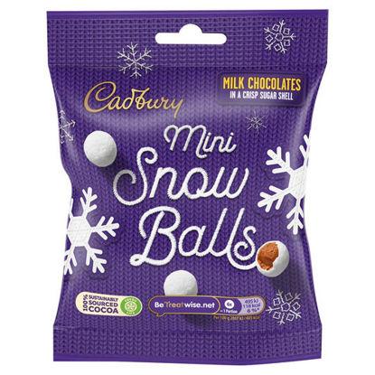 Picture of Cadbury Mini Snowballs 80G