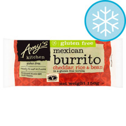 Picture of Amy's Kitchen Cheddar Rice & Bean Burrito 156G