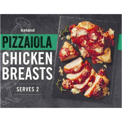 Picture of Iceland Pizzaiola Chicken Breasts 388g