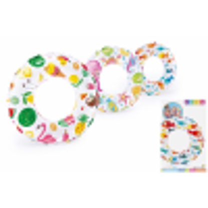 Picture of INTEX RING LIVELY PRINT 3-6YRS 20INCH