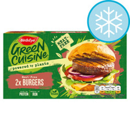 Picture of Birds Eye 2 Meat Free Burgers 200G
