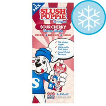 Picture of Slush Puppie Sour Cherry 3X250ml