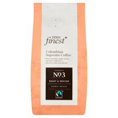 Picture of Tesco Finest Colombian Supremo Ground Coffee 227G