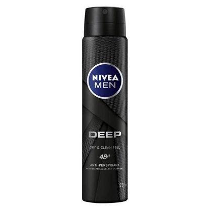 Picture of NIVEA MEN Deep Anti-Perspirant Deodorant Spray 48hrs 250ml