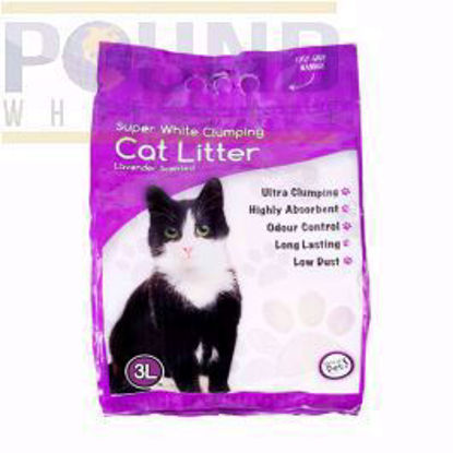 Picture of WORLD OF PETS CAT LITTER SCENTED 3LT