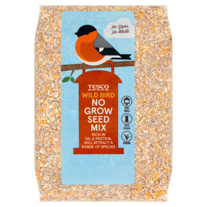 Picture of Tesco Wild Bird No Grow Seed Mix 800G
