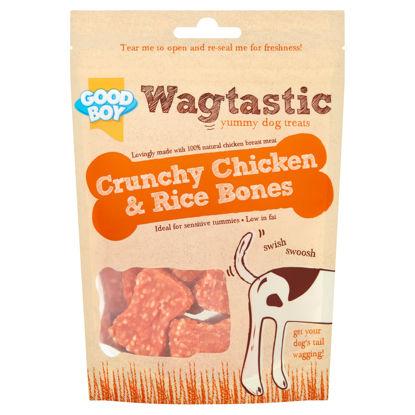 Picture of Good Boy Crunchy Chicken & Rice Bones 70G