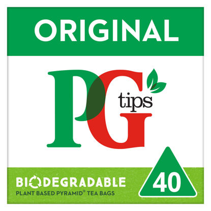 Picture of Pg Tips 40S Pyramid Teabags 116G
