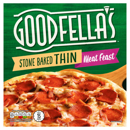 Picture of Goodfella's Stone Baked Thin Meat Feast 345g