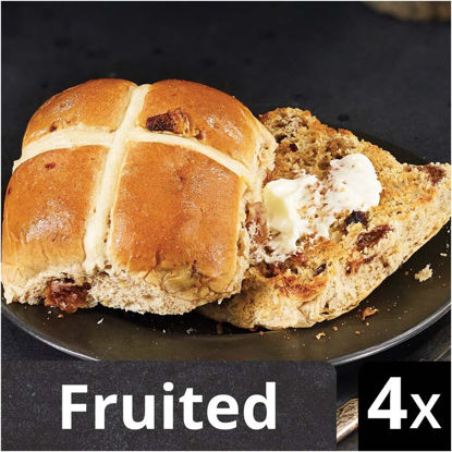 Picture of Iceland Luxury 4 Hot Cross Buns